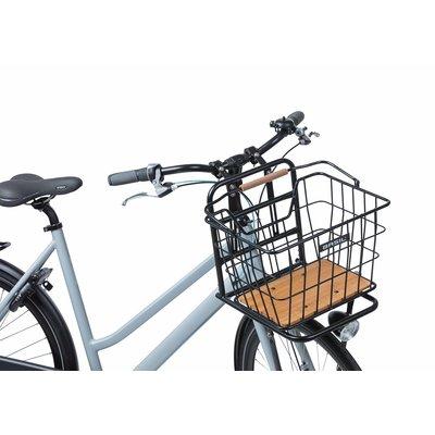 Basil Nordland - bicycle basket MIK - front and/or rear - black/natural