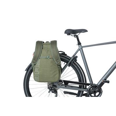 Basil Flex - Fahrradrucksack - 17 liter- waldgrün