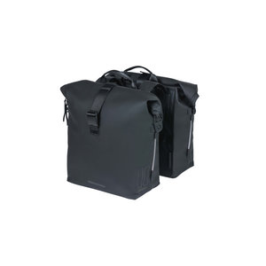 SoHo - bicycle double bag - black