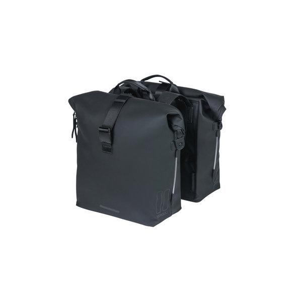SoHo - Fahrrad Doppeltasche - schwarz