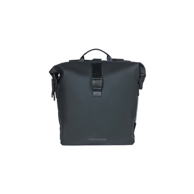 Basil SoHo - bicycle double bag Nordlicht - 41 liter - night black