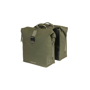 SoHo -  bicycle double bag - green
