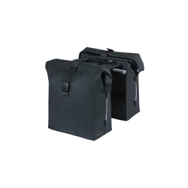 SoHo MIK - Fahrrad Doppeltasche - schwarz