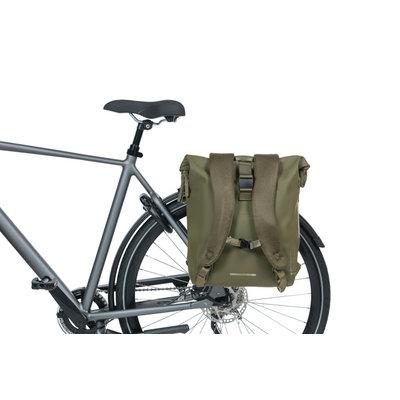 Basil SoHo- Fahrradrucksack Nordlicht - 17 liter - mossgrün