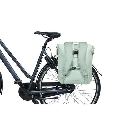 Basil SoHo - Fahrradrucksack Nordlicht - 17 Liter - pastelgrün