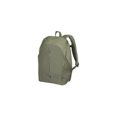 Basil B-Safe Commuter - Fahrradrucksack für 13inch Laptop Nordlicht - 13 Liter - olivengrün