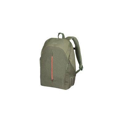 Basil B-Safe Commuter - bicycle backpack for 13inch laptop Nordlicht - 13 liter - olive green