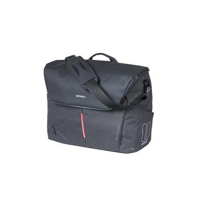 Basil B-Safe Commuter Nordlicht - fiets laptoptas - 17 liter - graphite zwart
