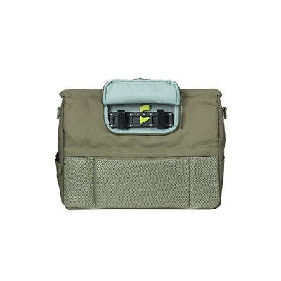 Basil B-Safe Commuter Nordlicht - laptoptas - 17 liter - olijf groen