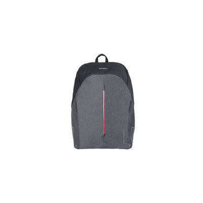 Basil B-Safe Commuter -  bicycle backpack for 13inch laptop Nordlicht - 13 liter - graphite black