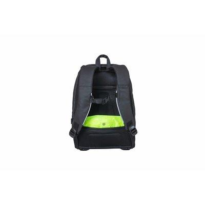 Basil B-Safe Commuter - Fahrradrucksack für 13inch Laptop Nordlicht - 13 Liter - graphitschwarz