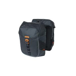 Miles Tarpaulin - double bicycle bag - black