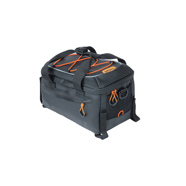 Miles Tarpaulin - trunkbag - black