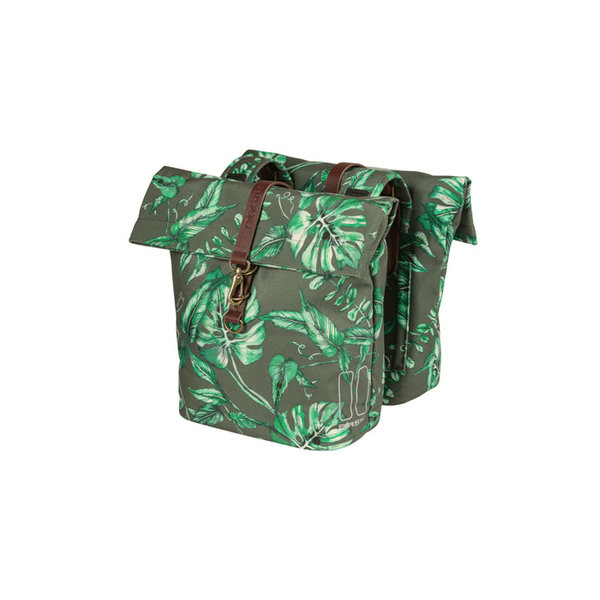 Ever-Green - double bicycle bag - green