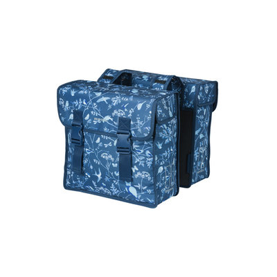 Basil Wanderlust - double bicycle bag - 35 liter - indigo blue