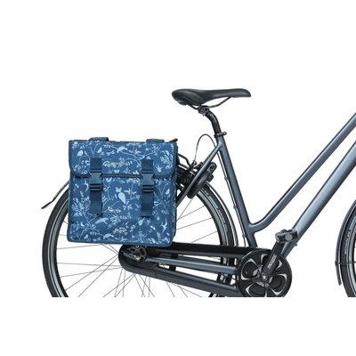 Basil Wanderlust - Fahrrad Doppeltasche - 35 Liter - indigoblau