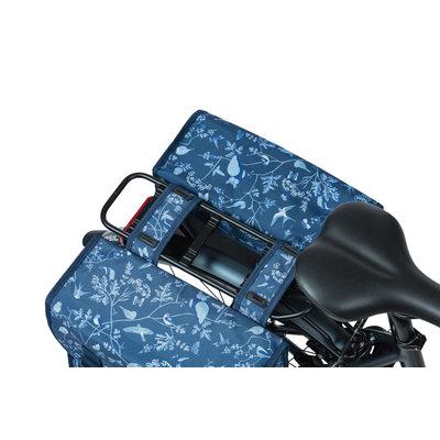 Basil Wanderlust - dubbele fietstas - 35 liter - indigo blauw