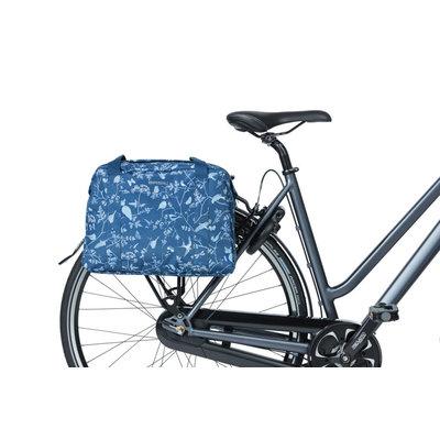 Basil Wanderlust - Fahrrad Schultertasche - 18 Liter - Indigoblau