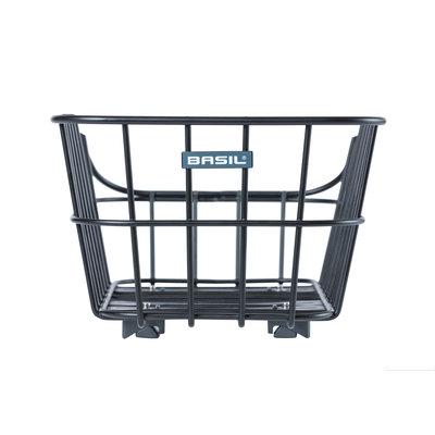 Basil Cento Alu WSL - HR-Korb - 22 Liter - matt schwarz