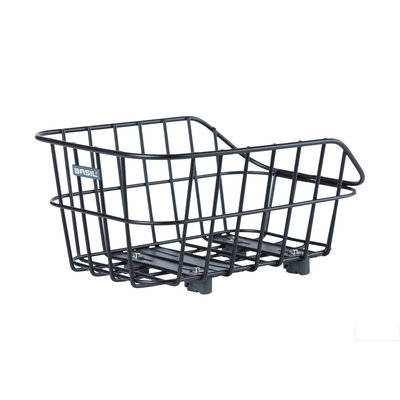 Basil Cento Alu WSL- rear basket - 22 liter - matt black