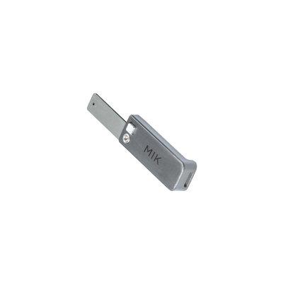 MIK Stick - für MIK Adapterplatte - Universal - grau