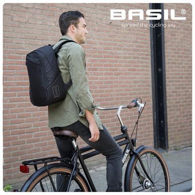 Basil Flex - Fahrradrucksack - 17Liter - signal rot