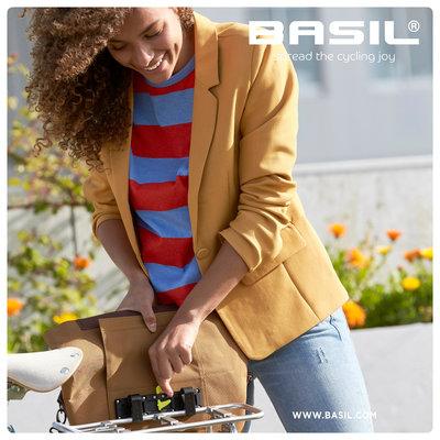 Basil City - fietshopper - 14-16 liter - camel bruin