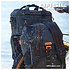 Basil Miles Tarpaulin - bicycle daypack - 17 liter - black/orange