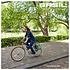Basil Ever-Green - Fahrrad Doppeltasche - 28-32 liter - tymiangrün