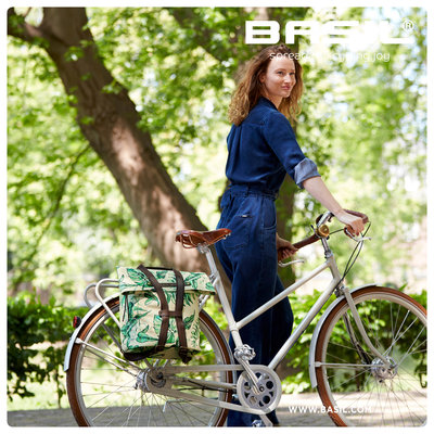 Basil Ever-Green - bicycle daypack - 14-19 liter - thyme green