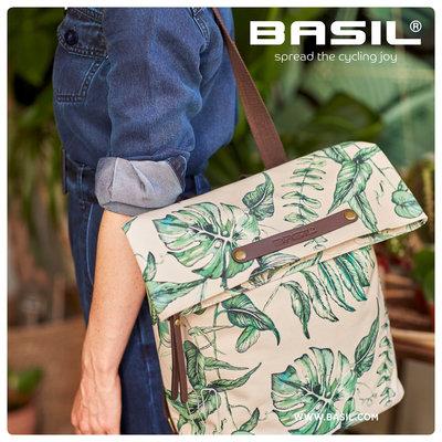 Basil Ever-Green - Fahrradrucksack - 14-19 Liter - sandshell beige