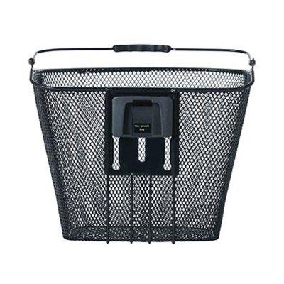Basil Bremen BE - bicycle basket - including BasEasy stemholder - black
