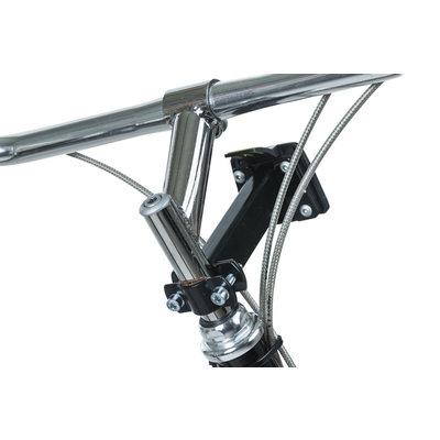 Basil Bremen BE - Fahrradkorb - inklusive BasEasy Lenkerhalter - schwarz