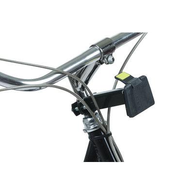 Basil Bremen BE - fietsmand - inclusief BasEasy stuurpenhouder - zwart