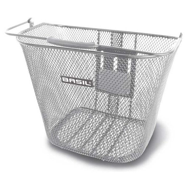 Bremen BE - bicycle basket - silver