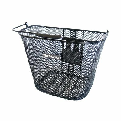 Basil Bremen KF - bicycle basket - front - black