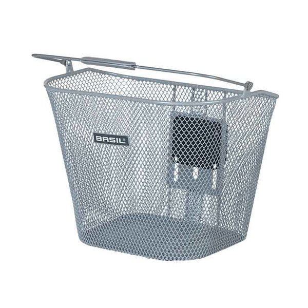 Bremen KF - bicycle basket - silver