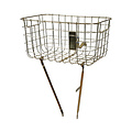 Robin - bicycle basket -  gold