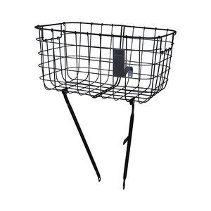 Robin - bicycle basket - black