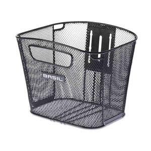 Bold Front FM - bicycle basket - black