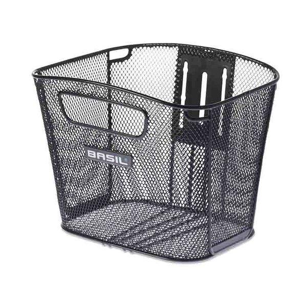 Bold Front FM - bicycle basket - black