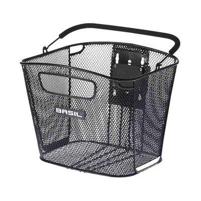 Basil Bold Front KF - Fahrradkorb - vorne - schwarz