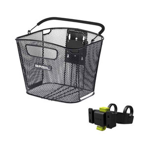 Bold Front KF - bicycle basket - black