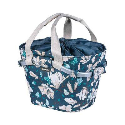Basil Magnolia Carry All KF – fietsmand –  voorop - blauw