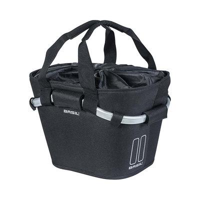 Basil Classic Carry All KF – fietsmand – voorop - zwart
