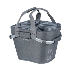 2Day Carry All front basket KF - grey