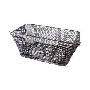 Basil Capri Flex - bicycle basket - rear - black