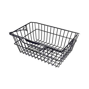 Basil Cairo Luxe - bicycle basket - rear - black
