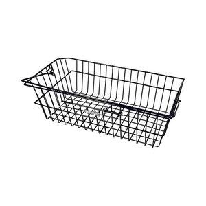 Basil Corsica - bicycle basket – rear - black