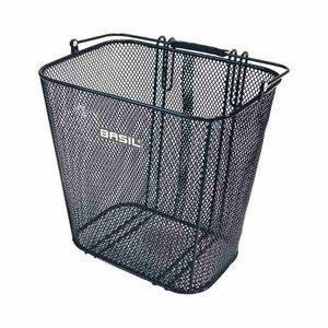 Basil Cardiff - bicycle basket – rear - black